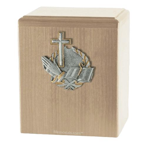 Faith Maple Cremation Urn