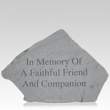 Faithful Friend Garden Stone