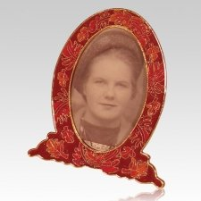Fall Leaf Cloisonne Picture Frame