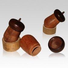 Fall Acorn Keepsake Cremation Urn