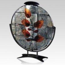 Fall Leaves Keepsake Cremation Urn