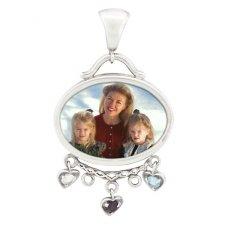 Family Photo Pendants