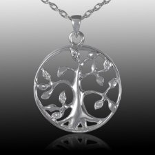 Family Tree Cremation Pendant III