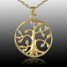 Family Tree Cremation Pendant IV
