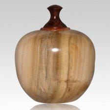 Fauna Wood Pet Cremation Urn
