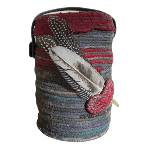 Feathers Cotton Cremation Urn