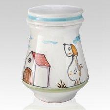 Felice Ceramic Dog Urn