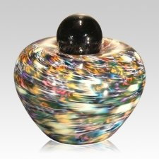 Feliche Glass Small Cremation Urn