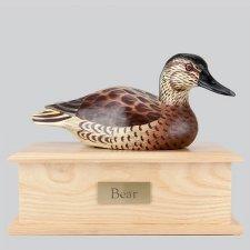 Female Decoy Duck Dog Urn