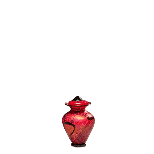 Fenix Small Glass Urn