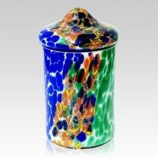 Festival Glass Cremation Urn