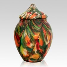 Festival Glass Pet Urn
