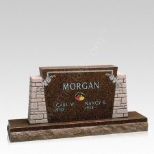 Fidelity Companion Granite Headstone