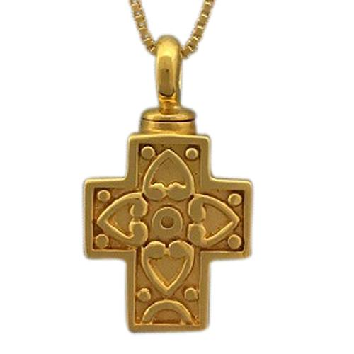 Filigree Cross Cremation Jewelry II