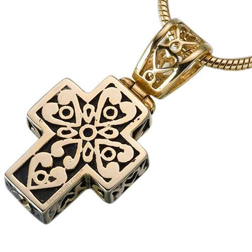 Filigree Cross Ash Jewelry II