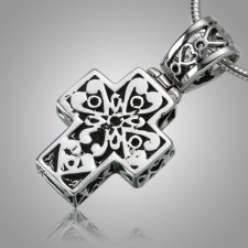 Filigree Cross Ash Jewelry