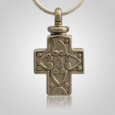 Filigree Cross Cremation Jewelry