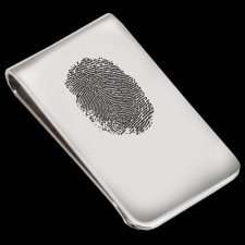 Fingerprint Money Clip