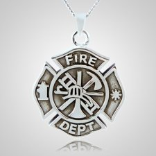 Fire Department Keepsake Pendant