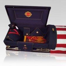 Firefighter Burial Casket