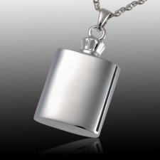 Flask Cremation Pendant