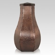 Flora Copper Cremation Urns