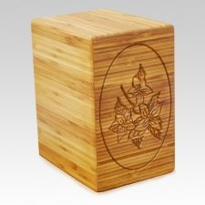 Flore Bamboo Nature Cremation Urn
