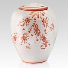 Floreale Ceramic Cremation Urns