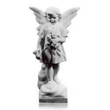 Flower Angel Marble Statues