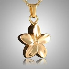 Flower Keepsake Pendant IV