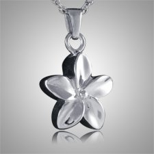 Flower Keepsake Pendant