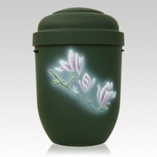 Flowers Biodegradable Urn