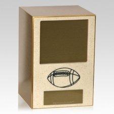 Football Sports Cremation Urn