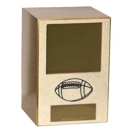 Football Sports Cremation Urn