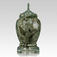 Forest Pewter Marble Cremation Urns
