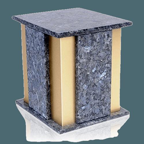 Foresta Blue Pearl Granite Cremation Urn