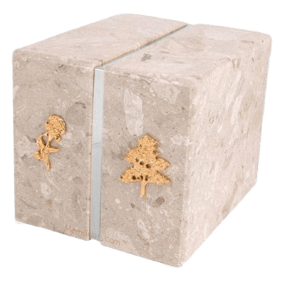 Foresta Silver Perlato Companion Urn