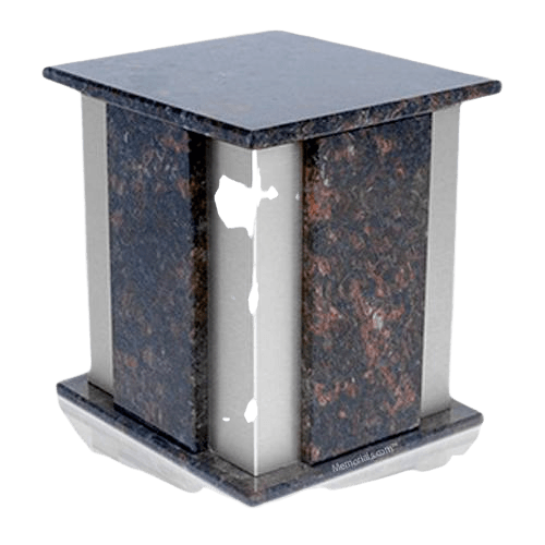 Foresta Silver Tan Brown Granite Urn