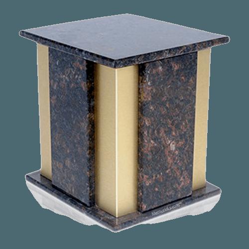 Foresta Tan Brown Granite Cremation Urns