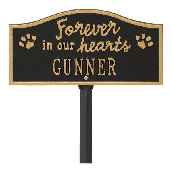 Forever In Our Hearts Pet Dedication Plaques