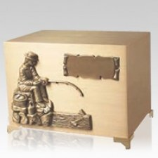 Forever Fishing Cremation Urn
