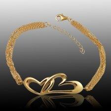 Forever Heart Cremation Bracelet