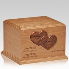 Forever Hearts Companion Cremation Urn