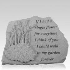 Forever Lavender Memorial Stone
