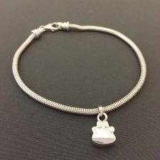 Forever Paw Cremation Bracelet