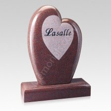 Forever in Love Companion Granite Headstone
