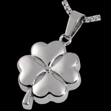 Four Leaf Clover Cremation Pendant