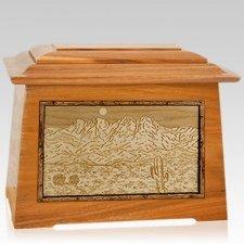 Four Peaks Mahogany Aristocrat Cremation Urn