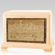 Four Peaks Maple Hampton Cremation Urn