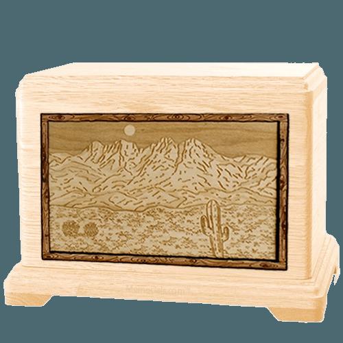 Four Peaks Maple Hampton Cremation Urn